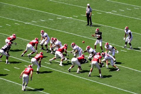 File:2013 Alabama A-Day spring football game.jpg
