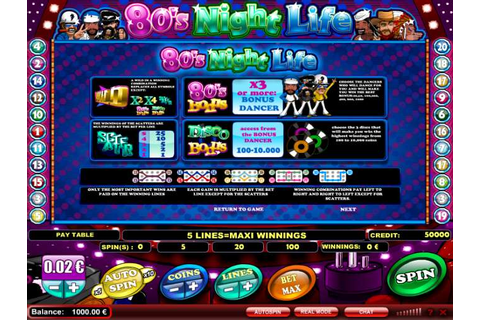 80s Night Life Slot review from iSoftBet