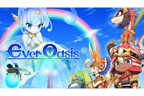 Ever Oasis Review: An RPG Baked into a Town Management Sim ...