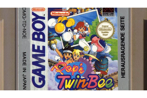 CGR Undertow - POP'N TWINBEE review for Game Boy - YouTube