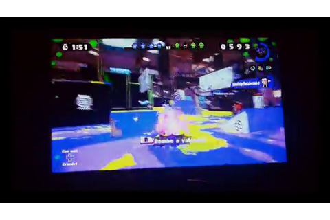 Splatoon Gameplay - Ancho-V Games (Turf War) - YouTube