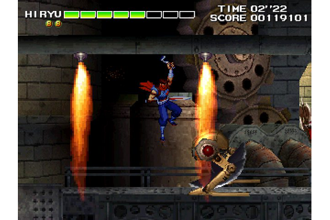 Strider 2 (1999) by Capcom Arcade game