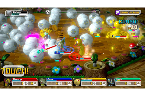 Pokémon Rumble U (Wii U eShop) News, Reviews, Trailer ...