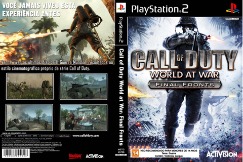 Call Of Duty - World At War - Final Fronts | Covers Filmes ...