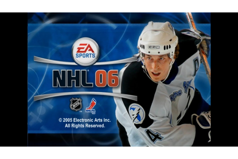 Hockey Game History - NHL 06 - YouTube