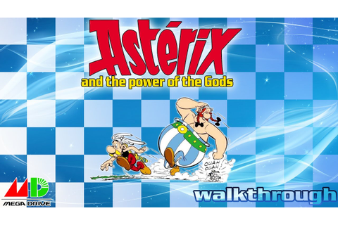Asterix and the Power of The Gods - 100% Walkthrough - YouTube