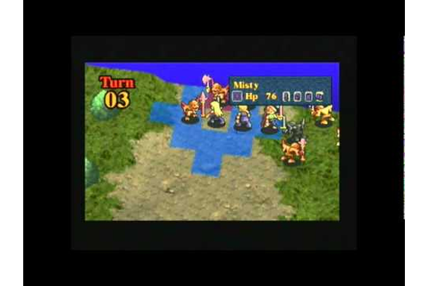 PS1 Game - Legend of Kartia - Gameplay (pt2of2) - YouTube