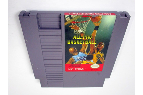 All-Pro Basketball game for Nintendo NES - Loose | eBay