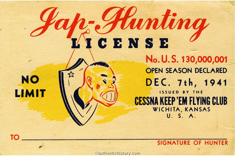 WWII Homefront: Anti-Japanese