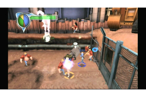 CGR Undertow - MEGAMIND: MEGA TEAM UNITE for Nintendo Wii ...