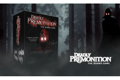 Deadly Premonition - The Board Game Crowd Funded ...