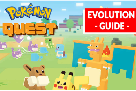 Pokemon Quest how to evolve your Pokemon like Pikachu (the ...