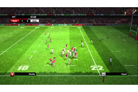 Rugby World Cup 2011 game - Launch Trailer - YouTube