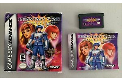 Phantasy Star Collection - Nintendo Game Boy Advance (GBA ...