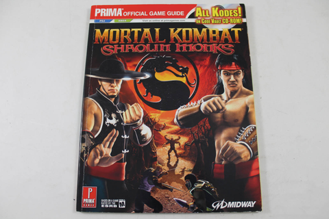Mortal Kombat: Shaolin Monks Official Game Guide - Prima Games