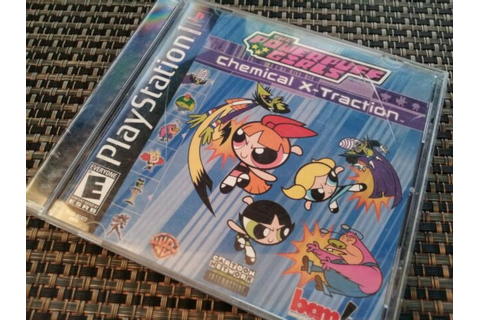 The Powerpuff Girls: Chemical X-Traction (PS1 Video Game ...