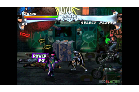 Batman Forever: The Arcade Game - Gameplay PSX / PS1 / PS ...