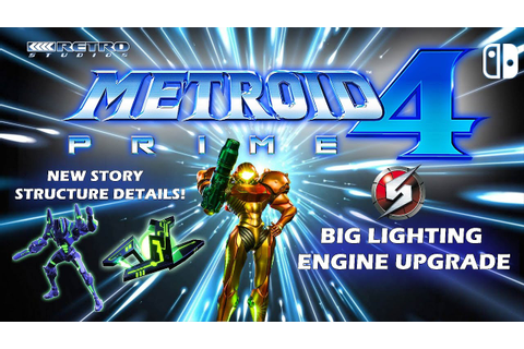 New Metroid Prime 4 Nintendo Switch Game Engine Lighting ...