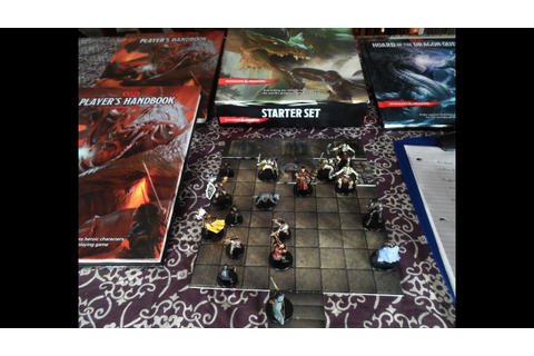 Dungeons & Dragons 5th Edition Game Play Review - YouTube