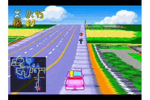 The Simpsons: Road Rage (Game Boy Advance) with commentary ...