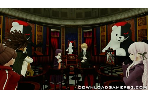 Cyber Danganronpa VR The Class Trial - Download game PS3 ...