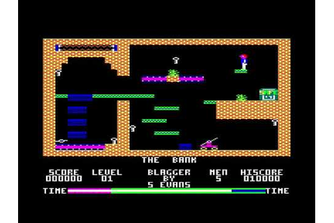 Blagger Game Music for the Amstrad CPC - YouTube