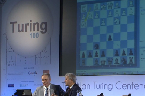 Alan Turing's 60-year-old chess program takes on Garry ...