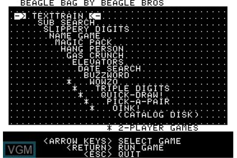 Beagle Bag for Apple II - The Video Games Museum