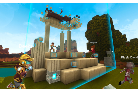 Creativerse is an adorable early access voxel sandbox ...