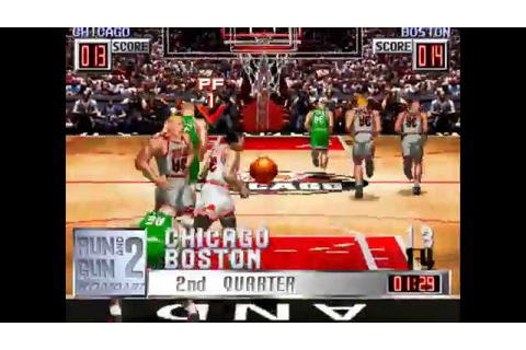[Retro game] Run and Gun 2 - 런앤건2 (NBA game) - YouTube