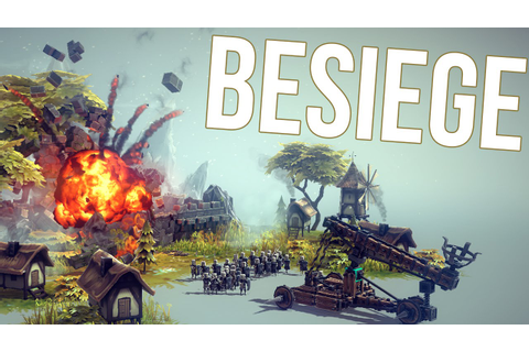 Besiege Gameplay Part 1 - DESTRUCTION CREATION! - Besiege ...