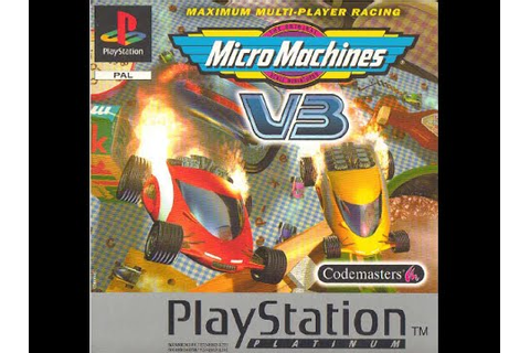 Micro Machines V3 - PS1 - YouTube
