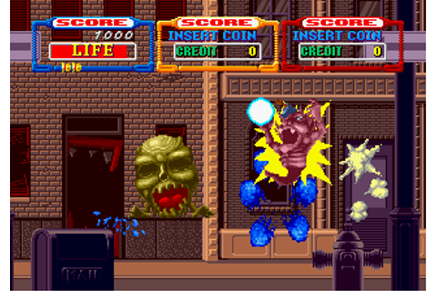 Laser Ghost , Arcade Video game by SEGA Enterprises (1991)