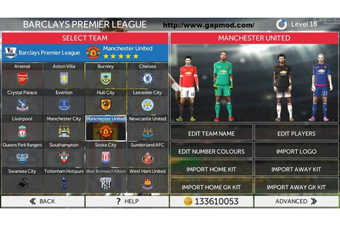 Game First Touch Soccer 2017 Mod Apk Data Obb Update ...