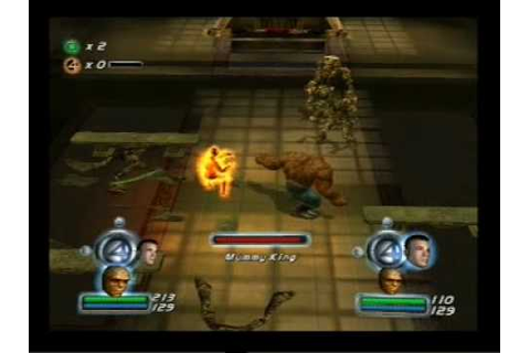 Fantastic Four Gameplay PS2 2 Player (www.chilloutgames.co ...