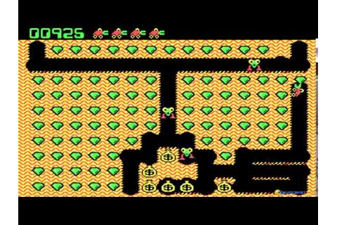 Digger gameplay (PC Game, 1983) - YouTube