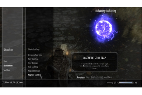 Better Soul Trap at Skyrim Nexus - mods and community
