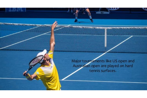 Different Types of Tennis Courts & How It Affects Player's ...