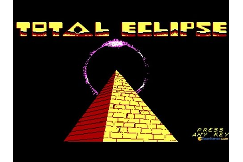Total Eclipse gameplay (PC Game, 1988) - YouTube