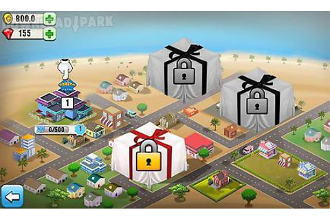 Resort tycoon Android Game free download in Apk