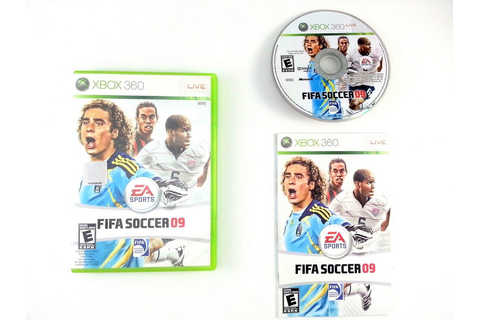 FIFA Soccer 09 game for Xbox 360 (Complete) | The Game Guy
