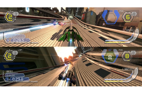 WipEout HD PSN review - DarkZero