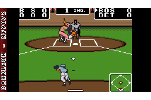 Game Gear - Clutch Hitter © 1991 Sega - Gameplay - YouTube