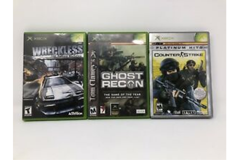 Original Xbox Game Lot Wreckless Yakuza Missions Ghost ...