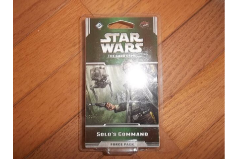 Fantasy Flight Games Star Wars Card Game Solo's Command ...