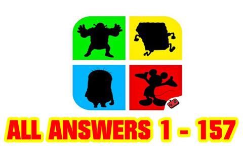 Shadow Quiz Game - Cartoons All Level Answers 1 - 157 ( Goxal Studio ...