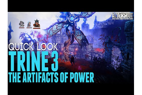 Trine 3 The Artifacts of Power: Quick Look (platform ...