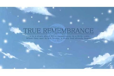 True Remembrance Download Free Full Game | Speed-New