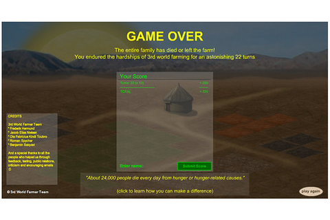 3rd World Farmer Game Online | www.arcadetown.com ...