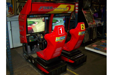 F355 CHALLENGE 2 FERRARI TWIN RACING ARCADE SEGA Item is ...